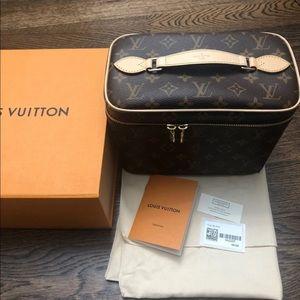 Authentic Louis Vuitton Nice BB Vanity Case